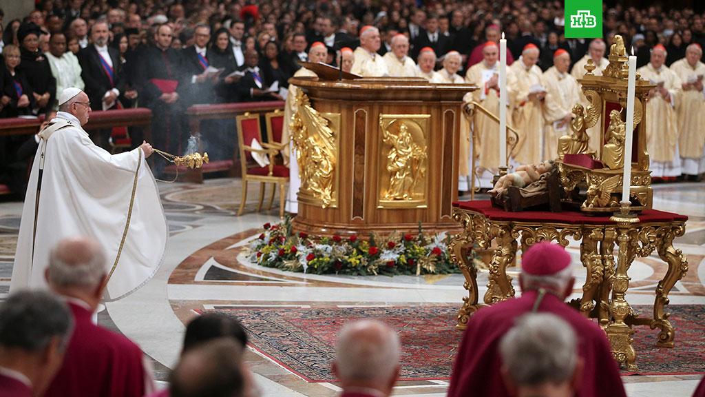 Сегодня римокатолики ипротестанты встречают Рождество Христово