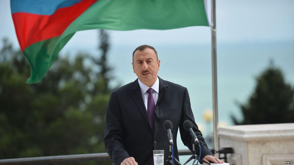 Президент Ильхам Алиев принял участие воткрытии автомобильной дороги вХачмазе