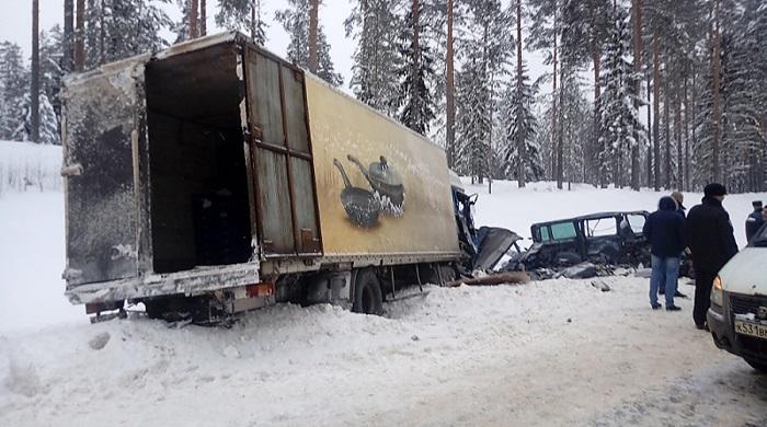 Встрашном ДТП под Петербургом погибли 9 человек