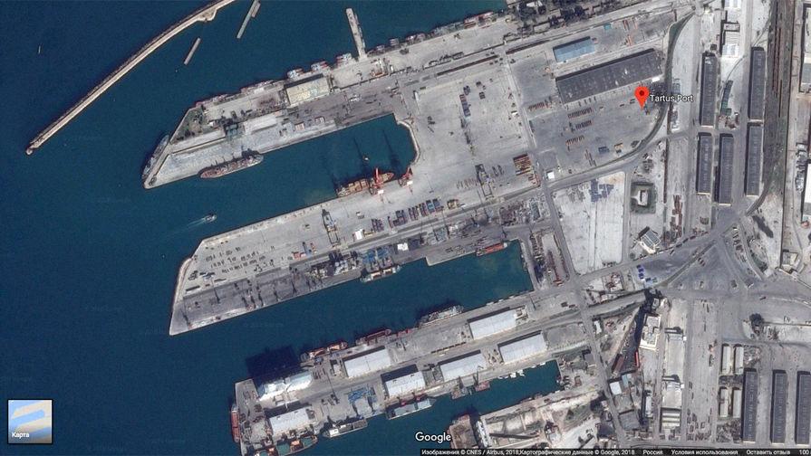 Борисов: Российская Федерация  арендует порт Тартус вСирии на49 лет