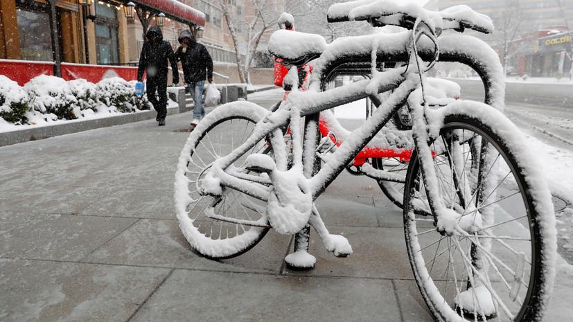 Синоптики обещали жителям Центральной РФ снежные выходные