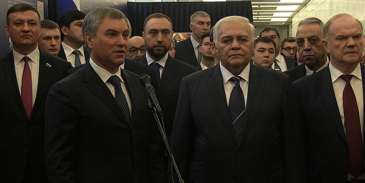 Володин уверен, что российско-азербайджанский разговор отвечает интересам 2-х стран