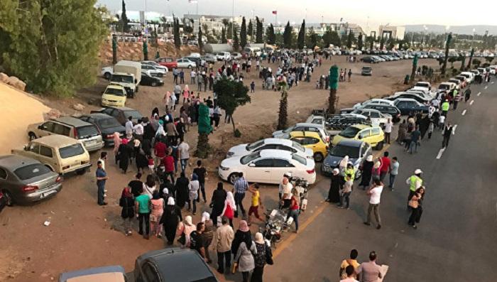 Боевики обстреляли интернациональную выставку вДамаске
