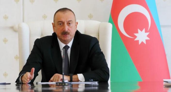 Ильхам Алиев заявил, что Азербайджан закупит новые виды вооружения