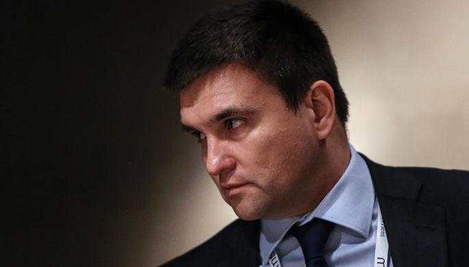 Климкин предлагает обсудить введение вгосударстве Украина латиницы наряду скириллицей