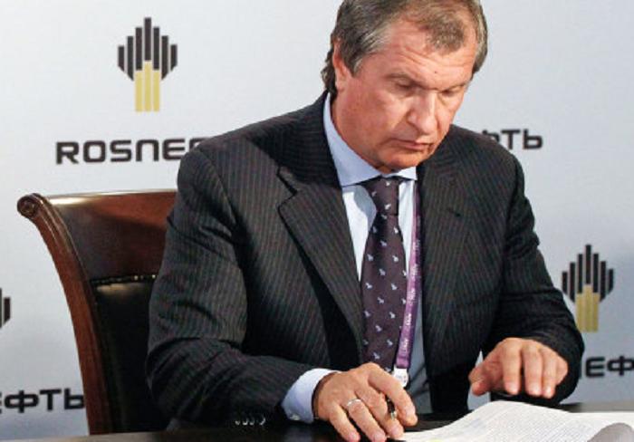 Сечин увидел «позитив» вштрафе Exxon засделки с«Роснефтью» исанкциях