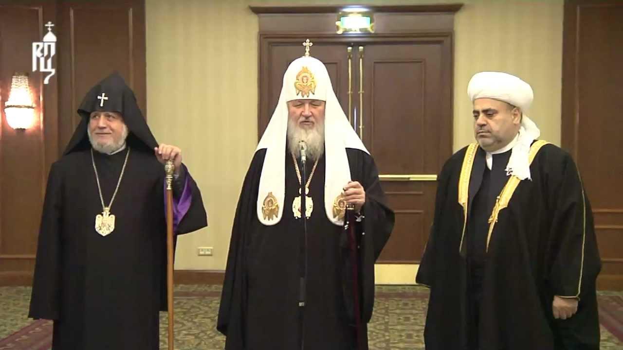 Известны сроки иместо встречи духовных лидеров Армении иАзербайджана