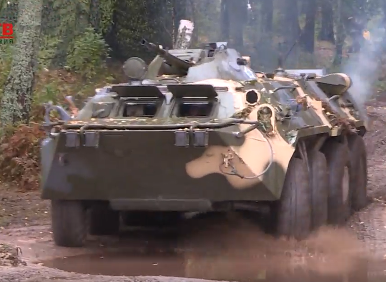 Научениях «Запад-2017» испытаны самые новые русские танки
