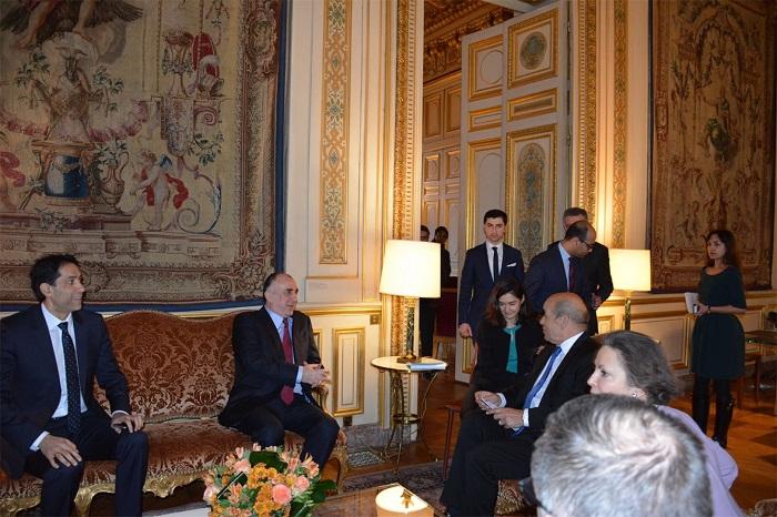 Руководителя МИД Азербайджана иФранции обсудили карабахский конфликт