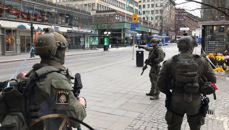 Мужчина, пострадавший отвзрыва вСтокгольме, скончался