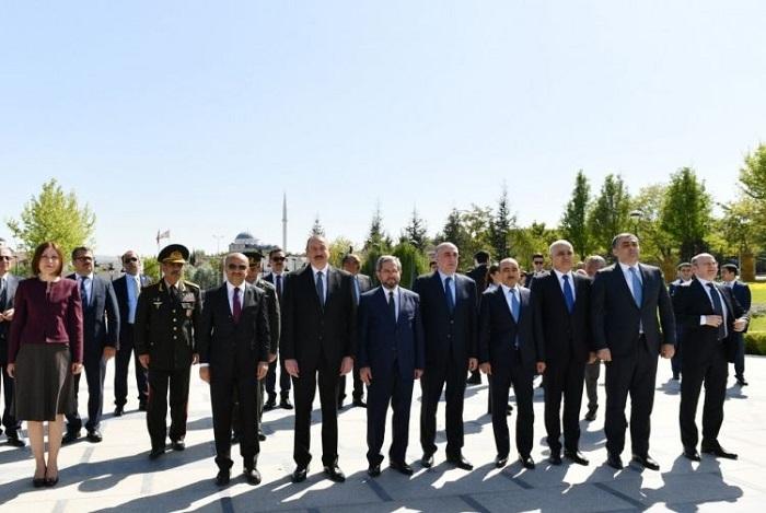 Алиев: Нет вмире столь тесных отношений, как уТурции сАзербайджаном