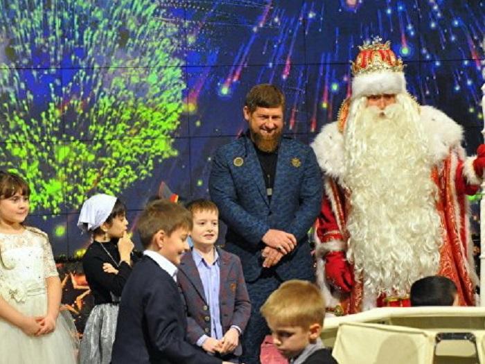 Кадыров проведет детскую елку в Грозном