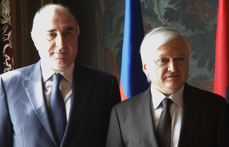 Руководителя МИД Азербайджана иФранции обсудили карабахскую проблему