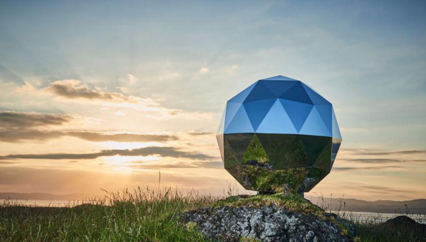 Наорбиту Земли запустили «Звезду человечества», напоминающую диско-шар