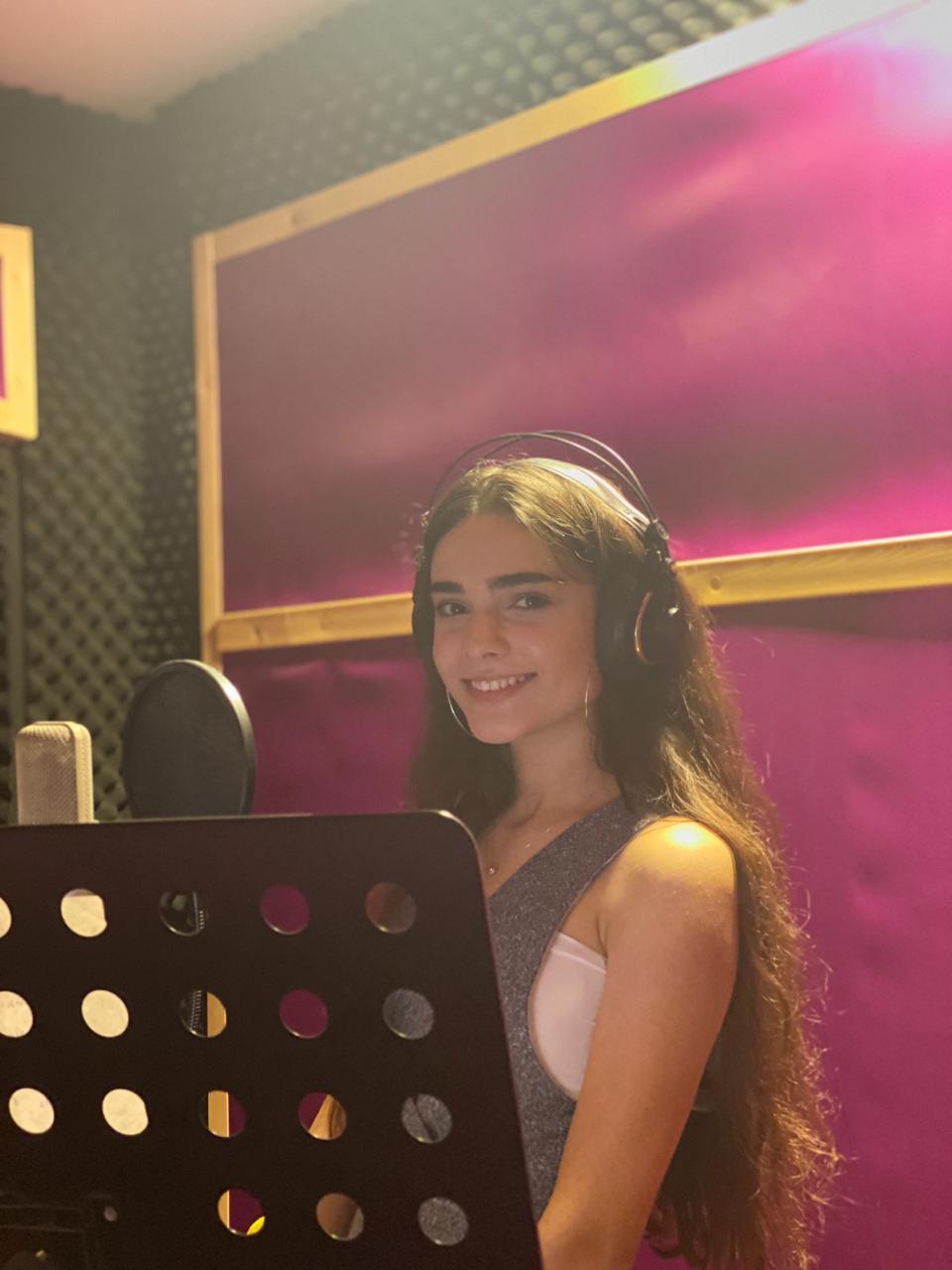 Фото: Лала Гафарова. Участница команды Азербайджан конкурса