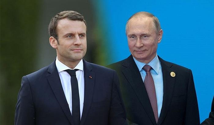 Макрон напресс-конференции сПутиным назвал Russia Today «органом лживой пропаганды»