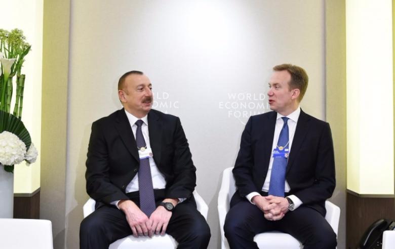 Президент Азербайджана встретился свице-президентом компании Microsoft