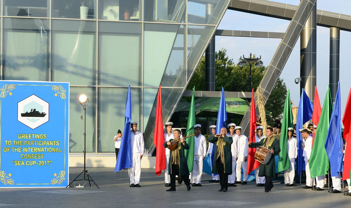 ВАзербайджанской столице прошла церемония открытия «Кубка моря» врамках АрМИ