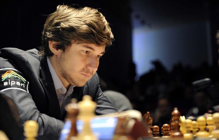 Николаевский гроссмейстер Александр Бортник сыграл вничью счемпионом мира