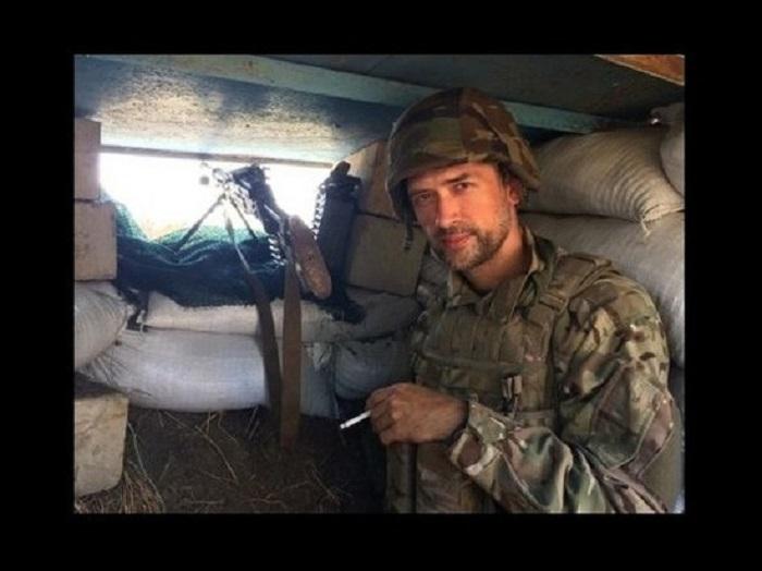 Прошлый русский артист Пашинин ведет войну вАТО настороне Украины