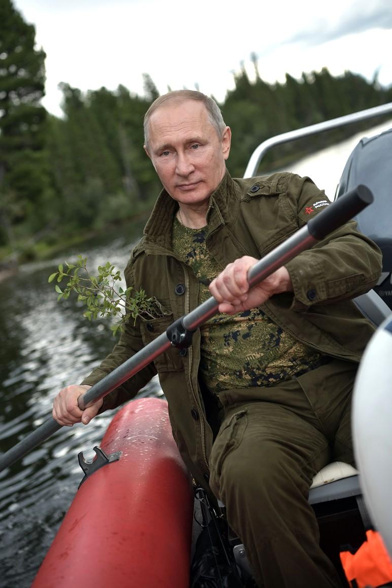 рыбалка в хакасии путин