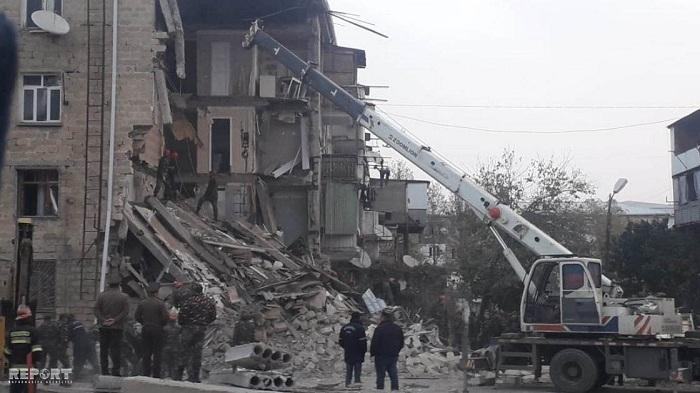 Вжилом доме назападе Азербайджана произошел взрыв