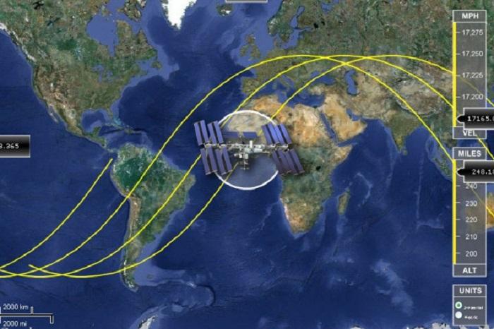 Состоится корректировка орбиты полета МКС
