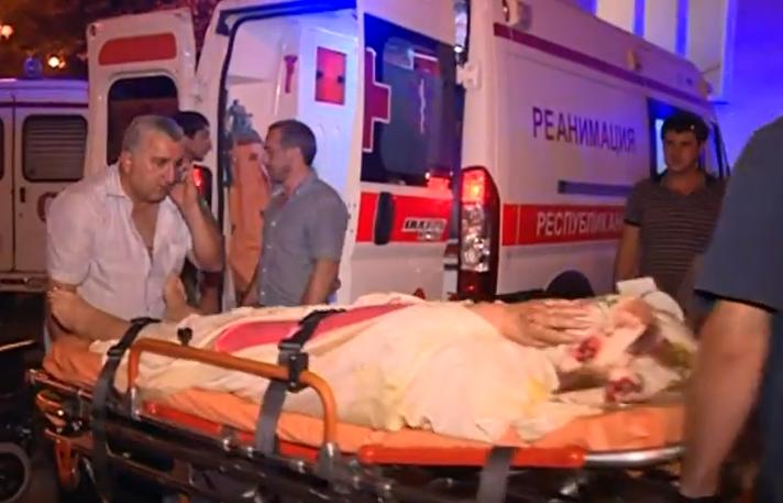 ЧП в Абхазии: взрывы боеприпасов задели российских туристов