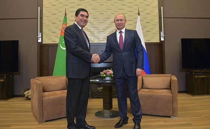 Путин приедет вТуркменистан 2октября