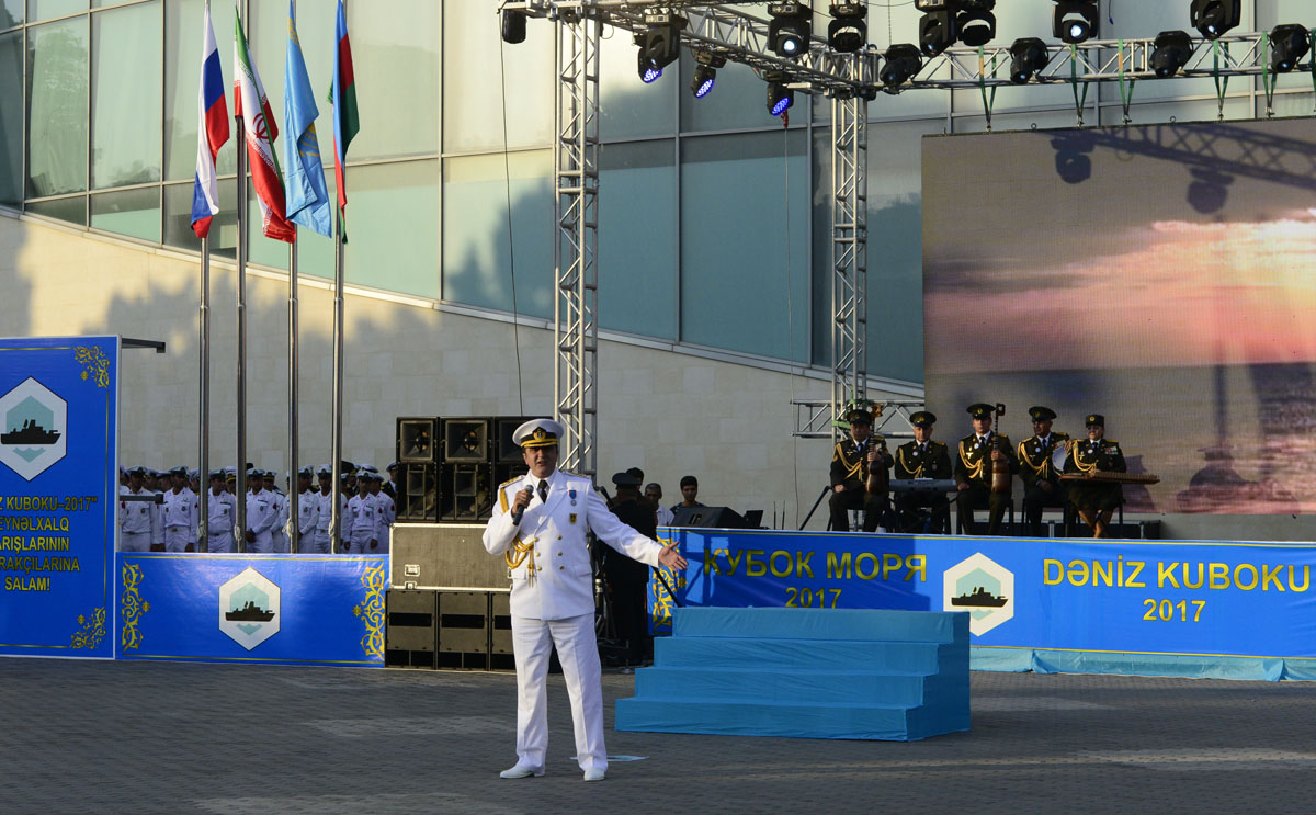 Корабли ВМС стран-участниц состязаний «Кубок моря -2017» прибыли встолице Азербайджана