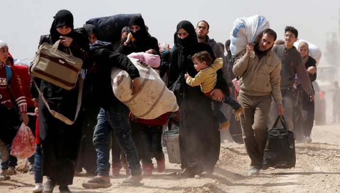 ИзВосточного Каламуна вСирии вывели 355 боевиков ссемьями засутки