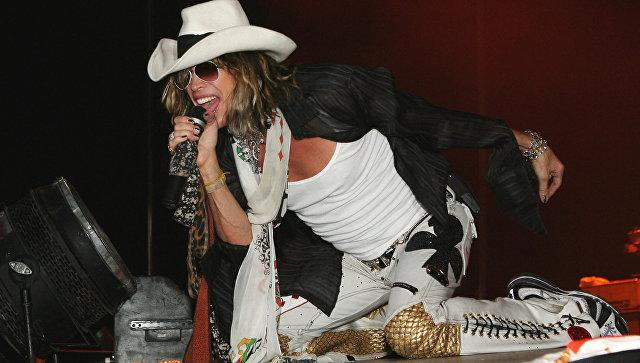 Группа Aerosmith исполнила в столице России песню вподдержку Манчестера