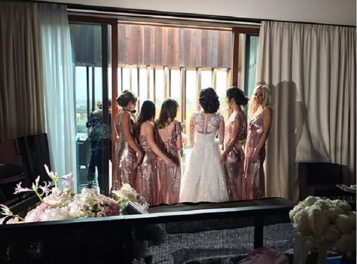 Свадьба Овечкина иШубской была роскошной