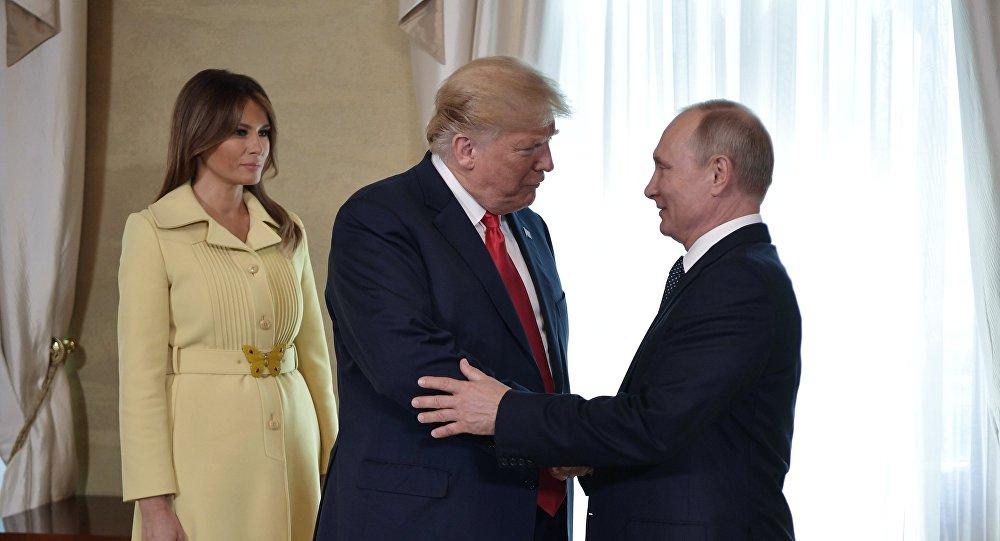 Трамп назвал встречу сПутиным одной из наилучших вего жизни