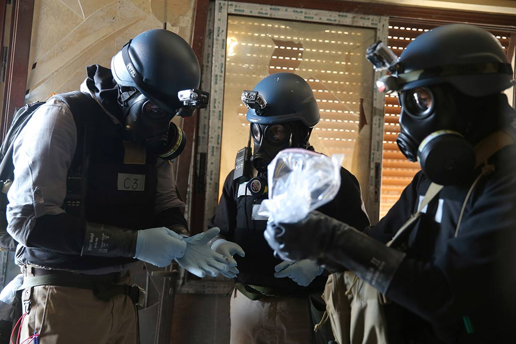 Готовят вСирии провокацию с применением химоружия