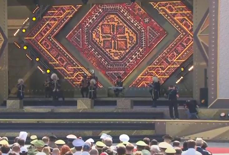 Церемония открытия Армейских интернациональных игр 2017 началась вПодмосковье