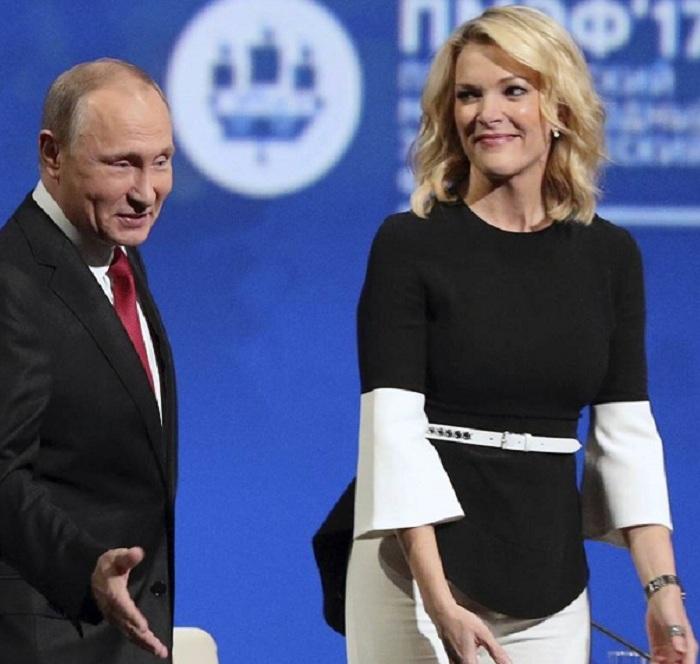NBC уволило бравшую у В. Путина интервью журналистку зарасистские слова