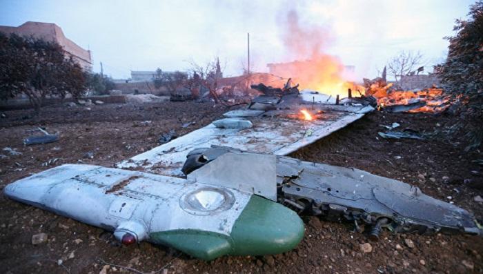 ВМинобороныРФ сказали, как умер пилот Су-25 вСирии