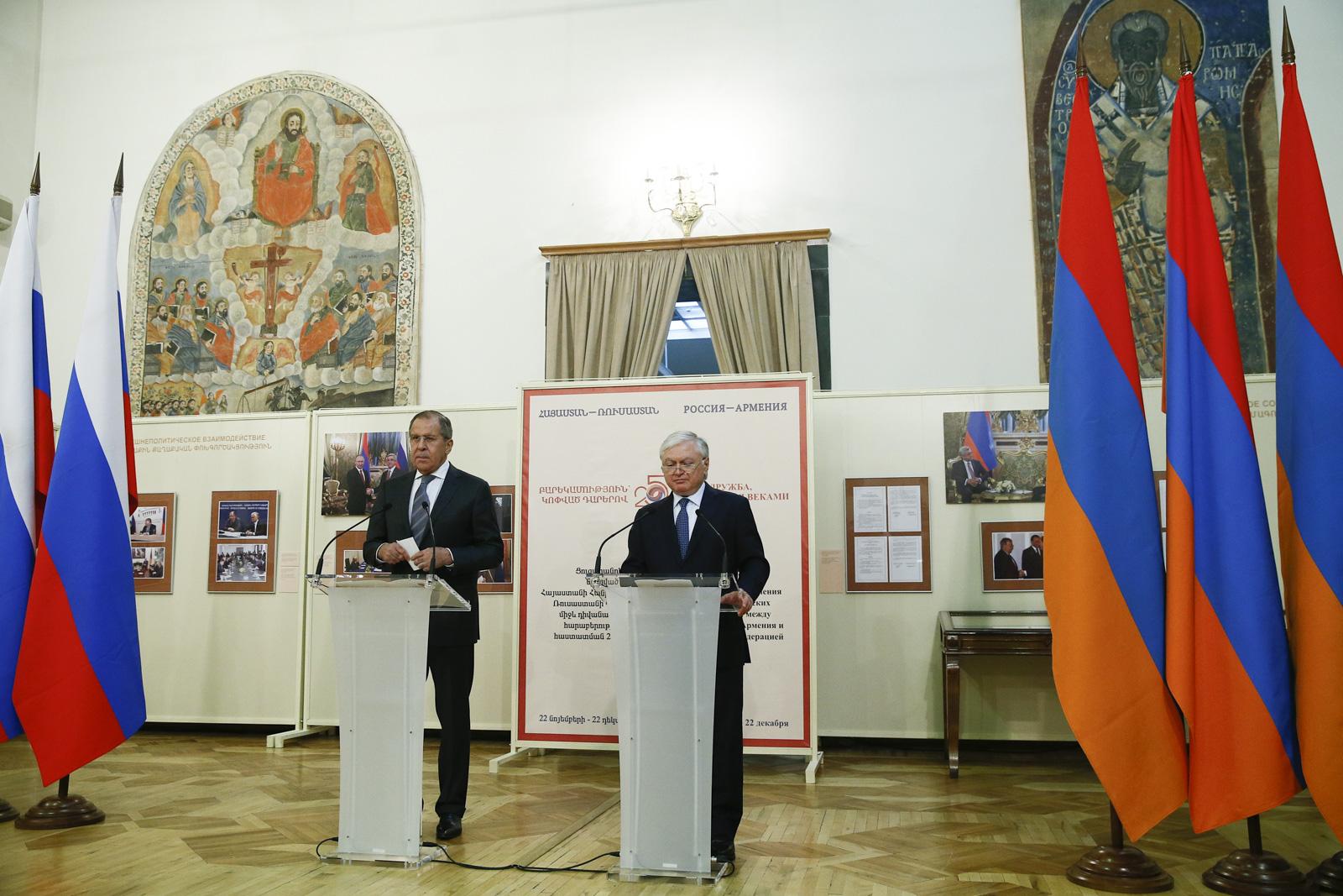 Саргсян поведал опродуктивном развитии российско-армянских отношений