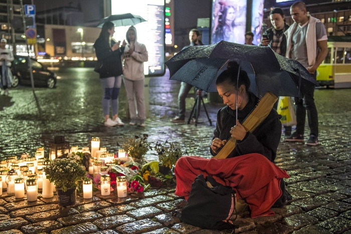 Милиция признала терактом резню вфинском городе Турку