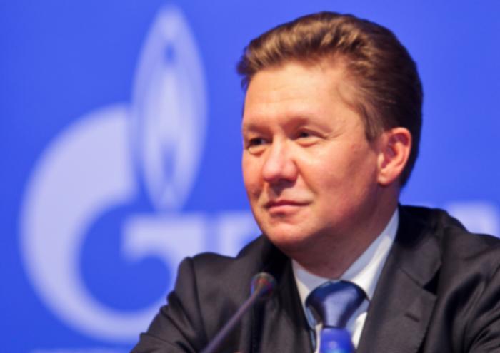 Миллер объявил обитоговых рекордах компании «Газпром» попоставкам газа вТурцию