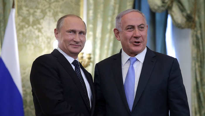 Путин обсудил сирийское урегулирование сНетаньяху