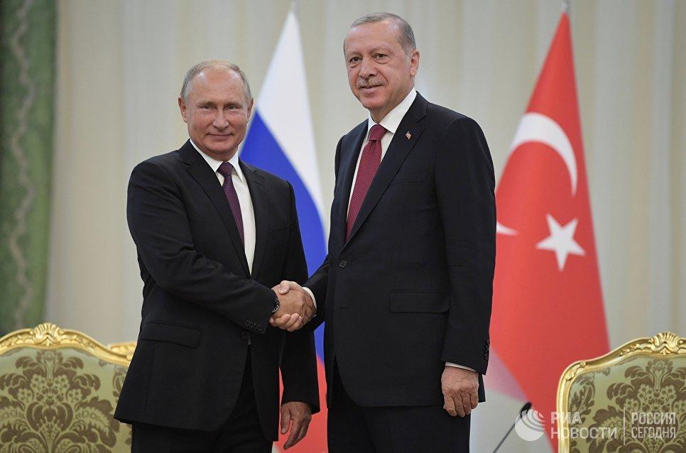 В положительных  взаимоотношениях Российской Федерации  иТурции есть исложные вопросы— Владимир Путин