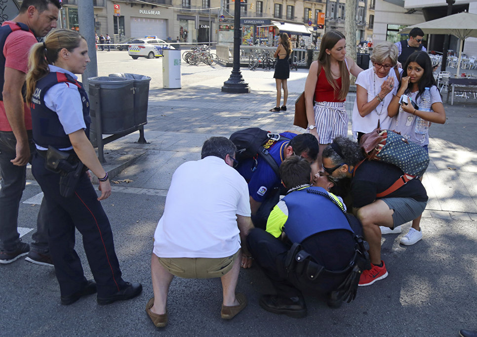 Милиция назвала имя основного подозреваемого— Теракт вБарселоне